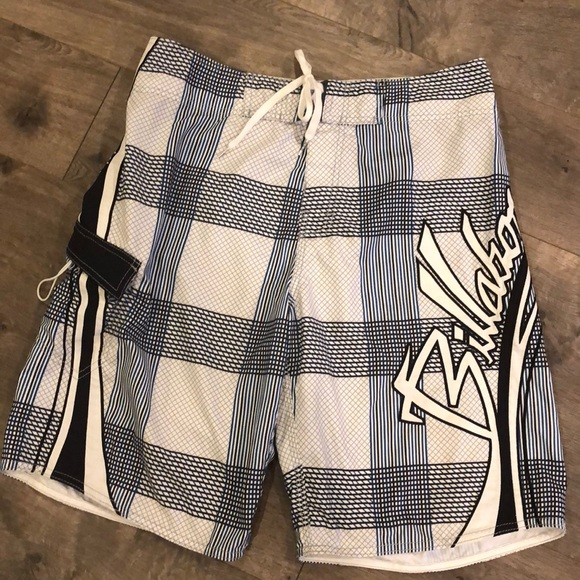 Billabong Board Shorts Size 33 Swim Beach
